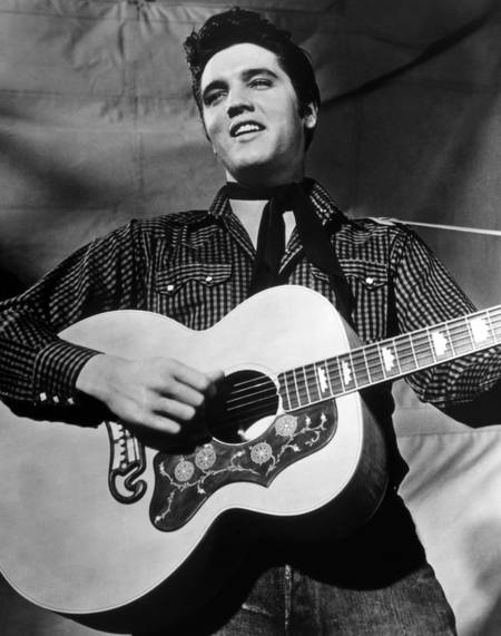 Elvis Presley en 1958