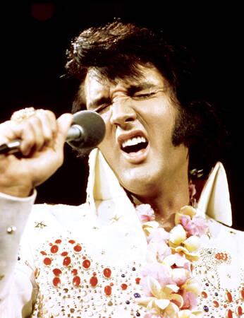 Elvis Presley en 1973