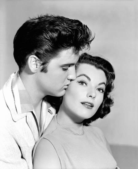 Elvis Presley et Judy Tyler