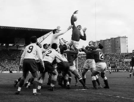 Frankreich gegen Wales - 1965