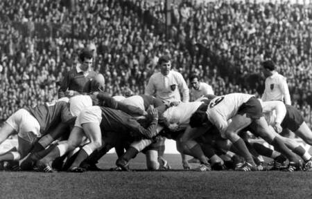 France against Wales in 1969