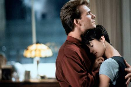 Ghost with Patrick Swayze and Demi Moore