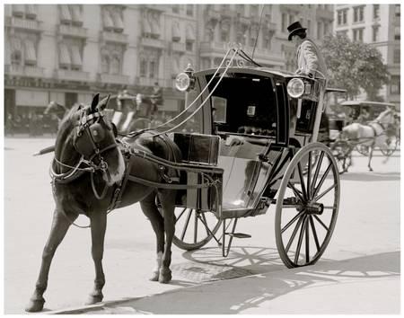 Hippomobile à Madison Square
