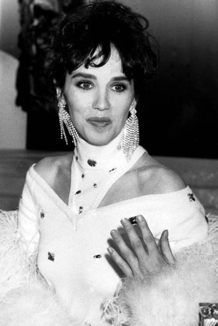 Isabelle Adjani lors de la soirée des Cesar 1984