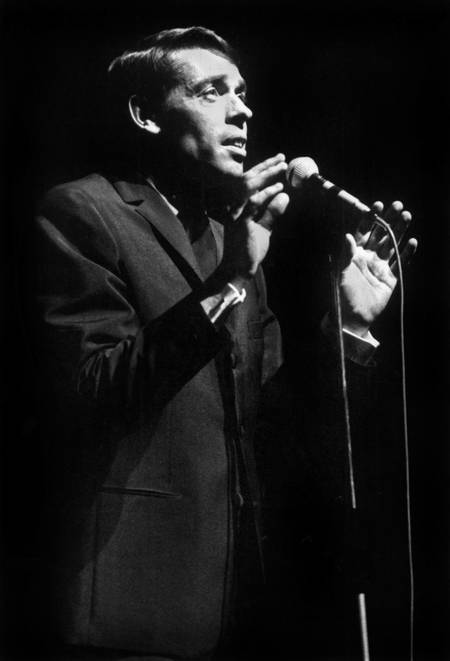 Jacques Brel at the Olympia in 1966