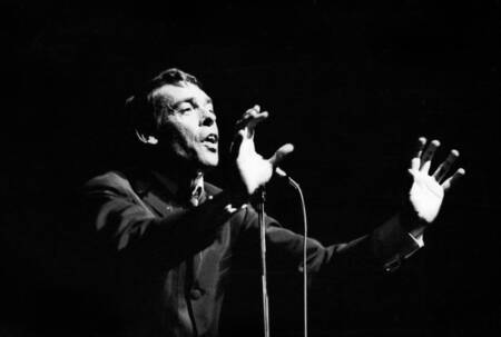 Jacques Brel at the Olympia October 7, 1966