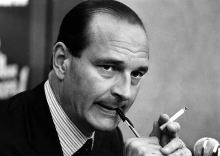 Jacques Chirac lors d'un interview