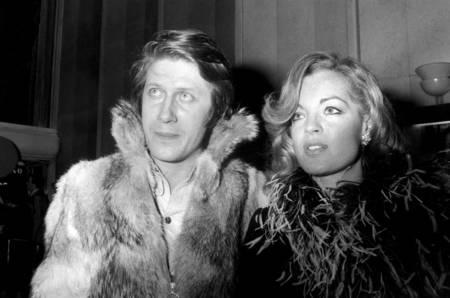 Jacques Dutronc et Romy Schneider