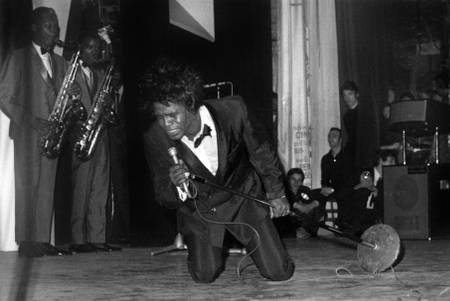 James Brown in concert at the Olympia in 1967