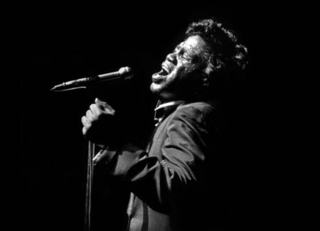 James Brown en concierto en 1967