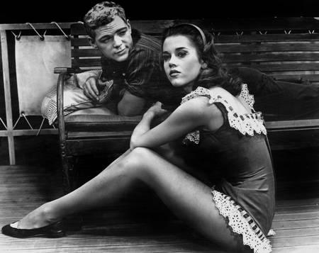 James MacArthur et Jane Fonda