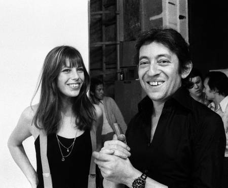 Jane Birkin and Serge Gainsbourg in 1971