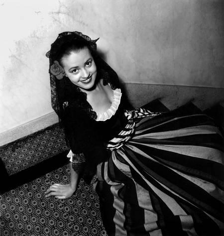 Jeanne Moreau à la Comédie Française en 1948