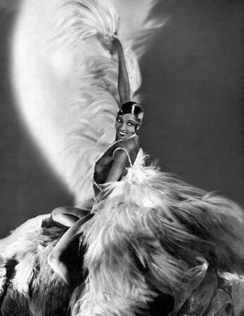 Josephine Baker at the Casino de Paris