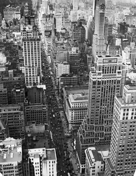 La cinquième avenue de New York