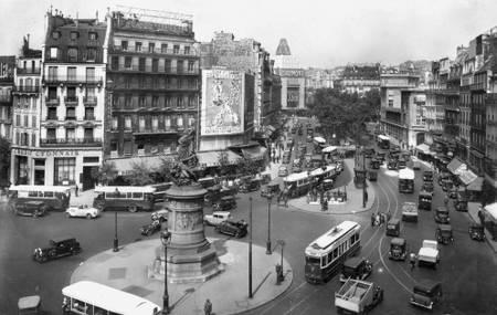 La Place de Clichy en 1933
