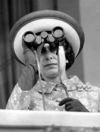 Königin Elizabeth II. Im Jahr 1972