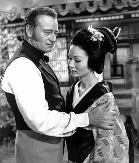 Le barbare et la geisha