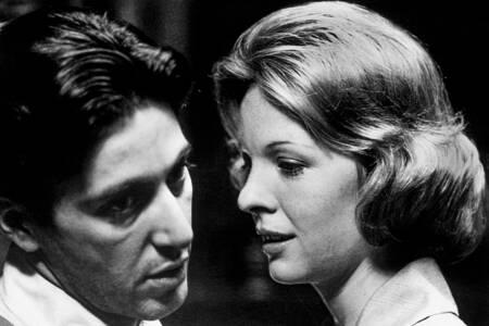 Le parrain avec Al Pacino et Diane Keaton