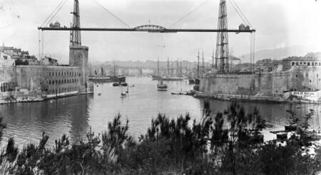 Le pont transbordeur - Marseille