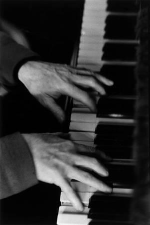 The hands of pianist Jean Wiener 1979
