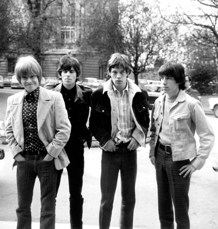 The Rolling Stones in Paris in 1966