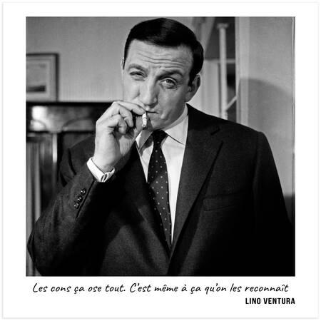 Lino Ventura - Les cons ça ose tout. C'est même à ça qu'on les reconnaît