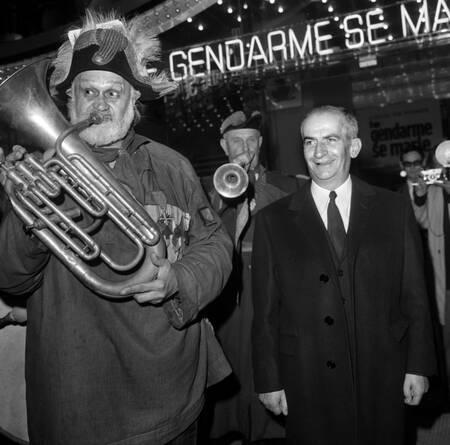 """Louis de Funès """"Il gendarme si sposa"""" 1968"""