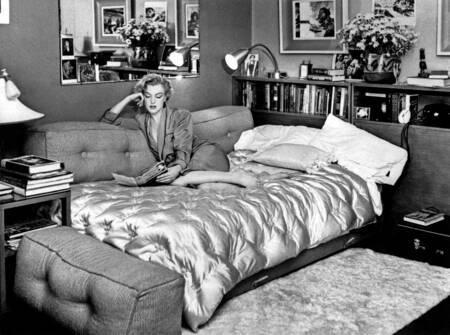 Marilyn Monroe à l'hôtel Beverly Carlton