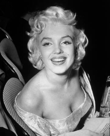 Marilyn Monroe at the premiere of East of Eden