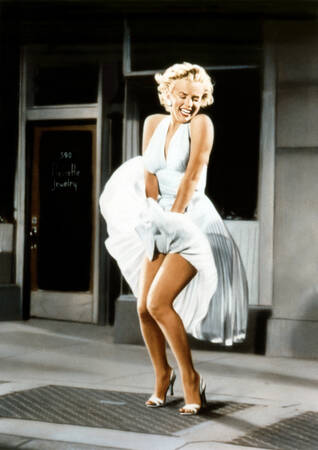 Marilyn Monroe in der Rockszene