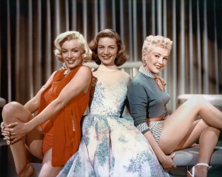 Marilyn Monroe dans le film Comment epouser un millionnaire