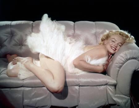 Marilyn Monroe in dem Film Der Prinz und die Tänzerin...