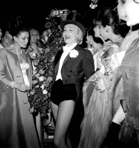 Marlène Dietrich at the Olympia in 1962