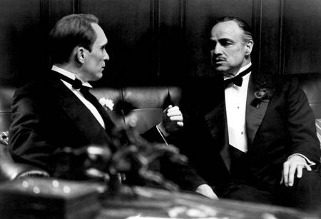 Marlon Brando and Robert Duvall