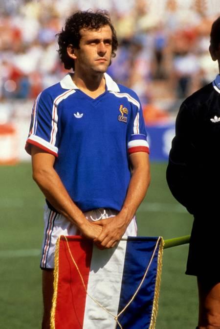 Michel Platini en 1986