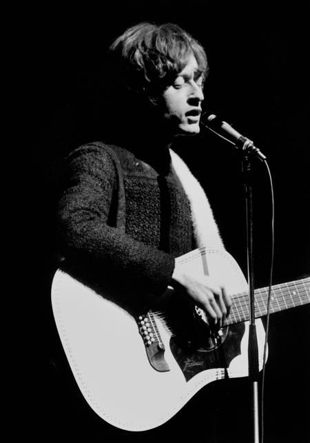 Michel Polnareff en concert à l'Olympia en 1967