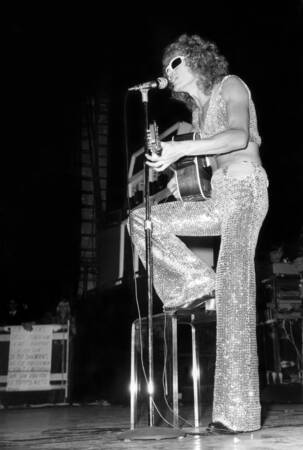 Michel Polnareff en concert en 1972