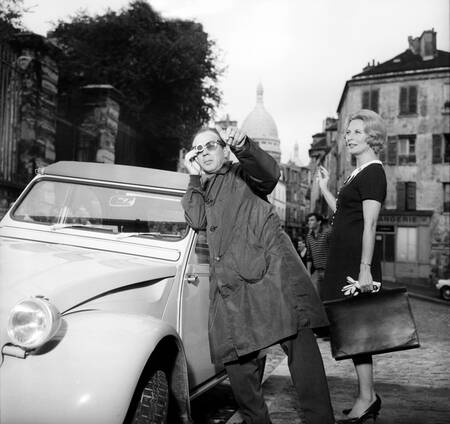 Michele Morgan and Francois Villiers 1963