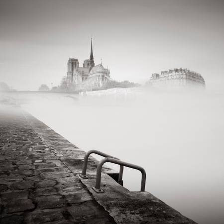 Notre Dame in the mist