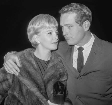 Paul Newman et sa femme Joanne Woodward