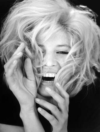 Portrait of Monica Vitti 1968