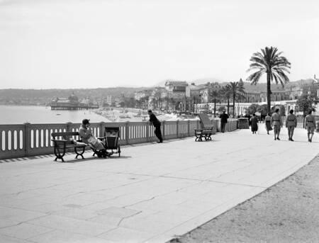 Promenade des Anglais nel 1930
