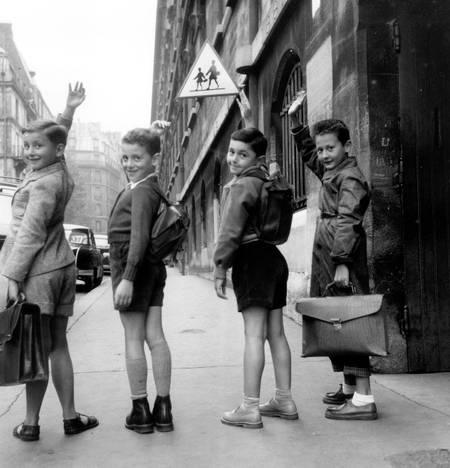 Rentrée des classes 1954