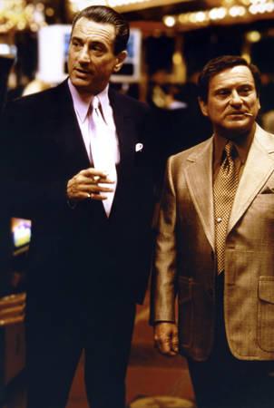 Robert De Niro et Joe Pesci dans le film Casino