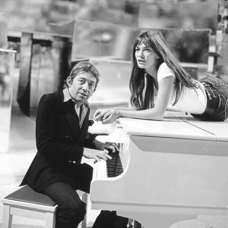 Serge Gainsbourg et Jane Birkin 1975