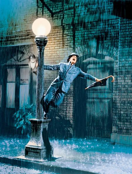 Singen im Regen