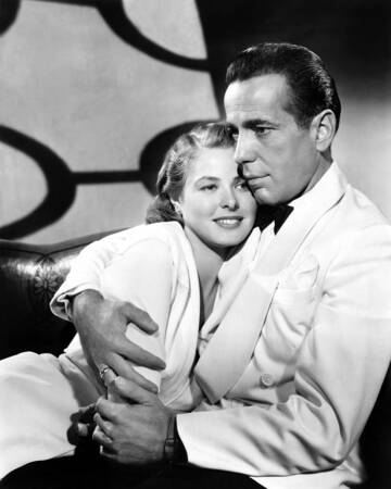 Filming of the movie Casablanca