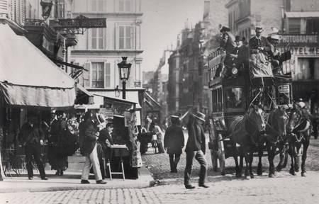 Vue de Paris vers 1900