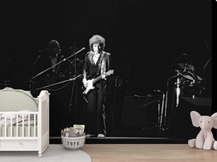Bob Dylan en concierto en 1978